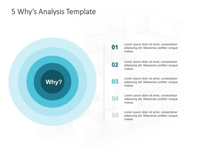 Detailed 5 Why Analysis PowerPoint 1