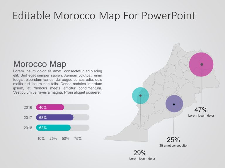 Morocco Map PowerPoint 3