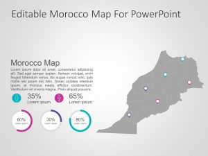 Morocco Map PowerPoint 4