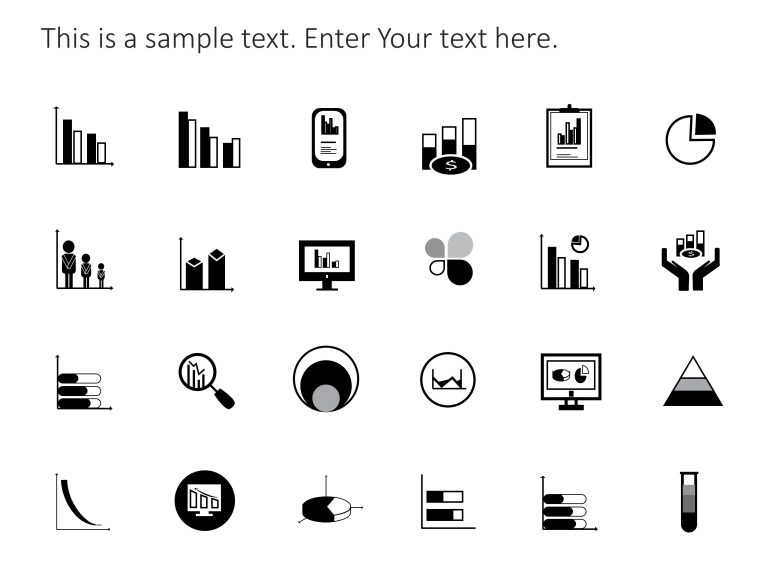 Graph PowerPoint Icons