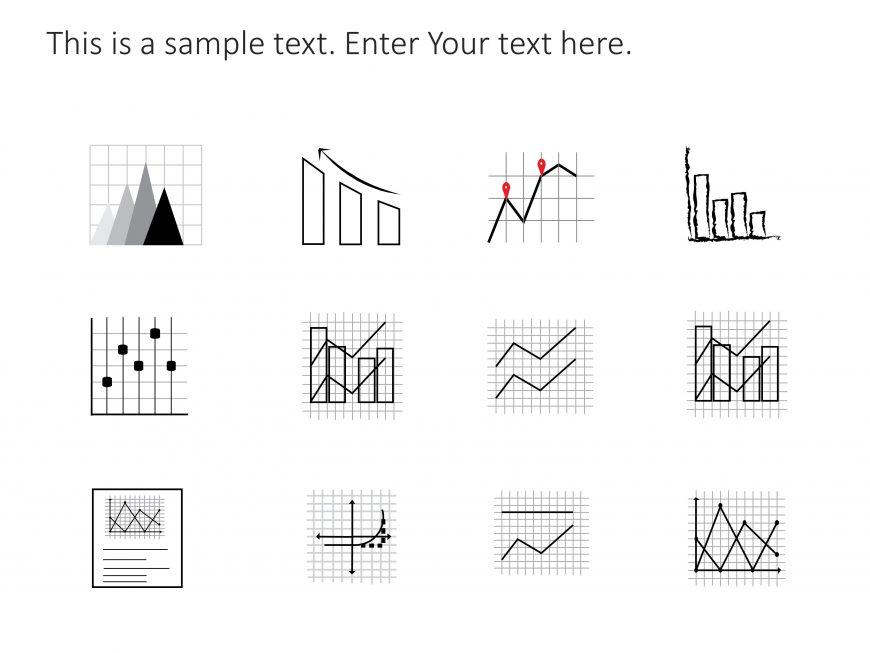 Graph PowerPoint Icons 1