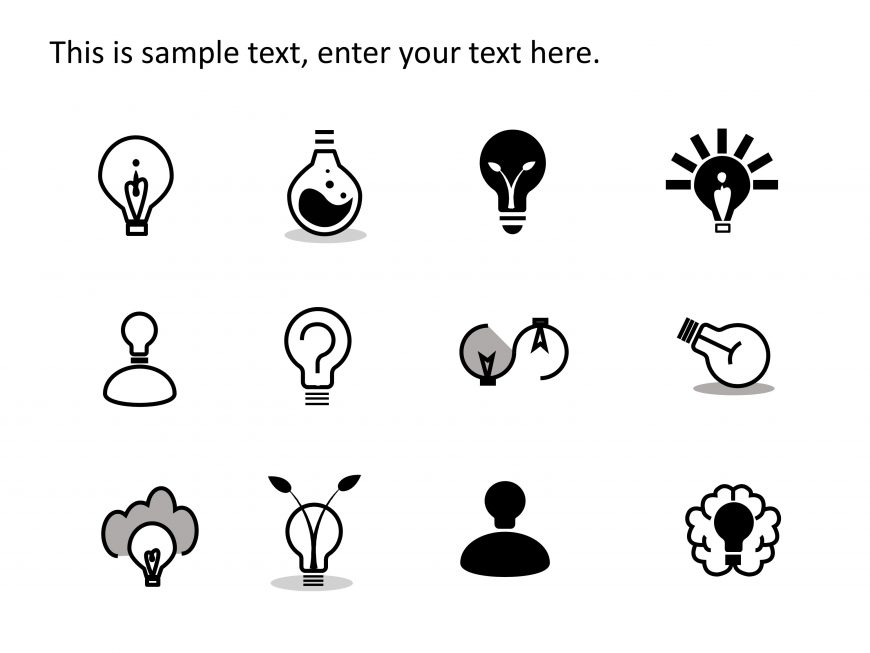 Ideas PowerPoint Icons 1