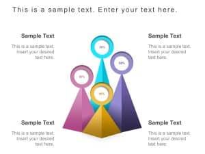 Pyramid Bar Chart PowerPoint