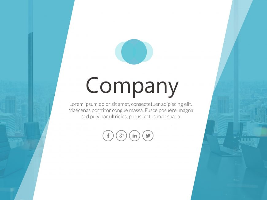 Company Banner PowerPoint Template 4