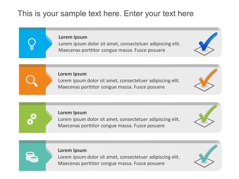 Checklist PowerPoint Template 3