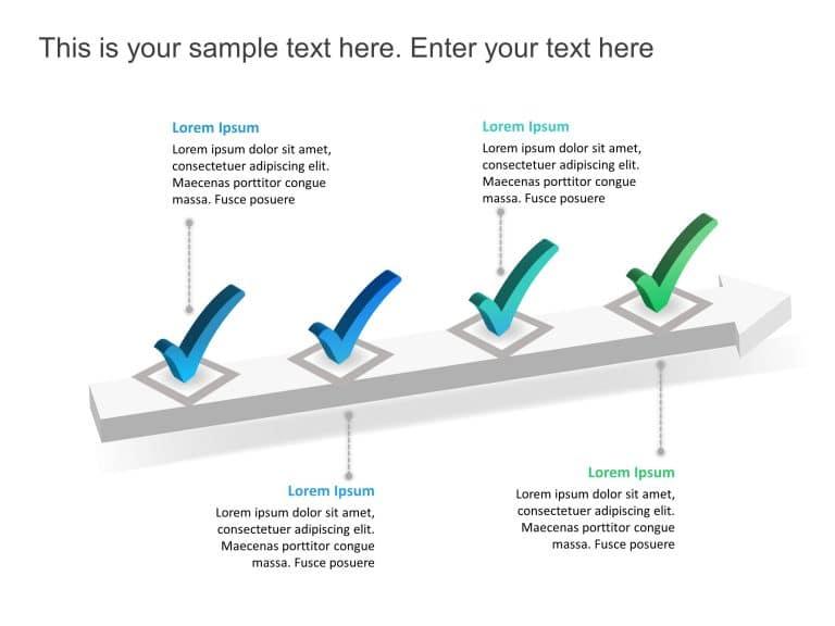 Checklist PowerPoint Template 5