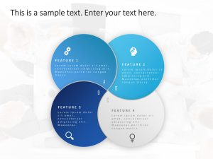 4 Steps Features PowerPoint