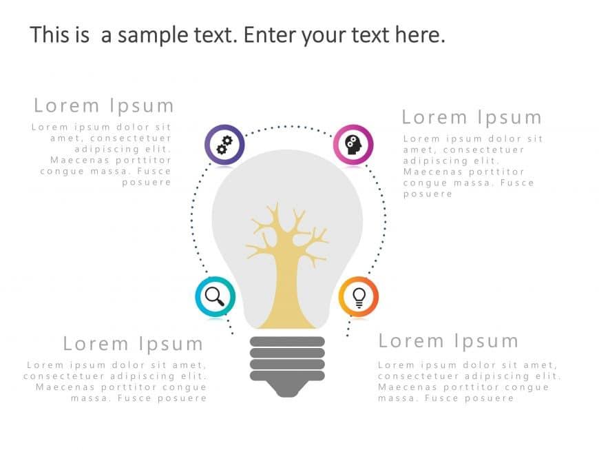 Brainstorming PowerPoint Bulb