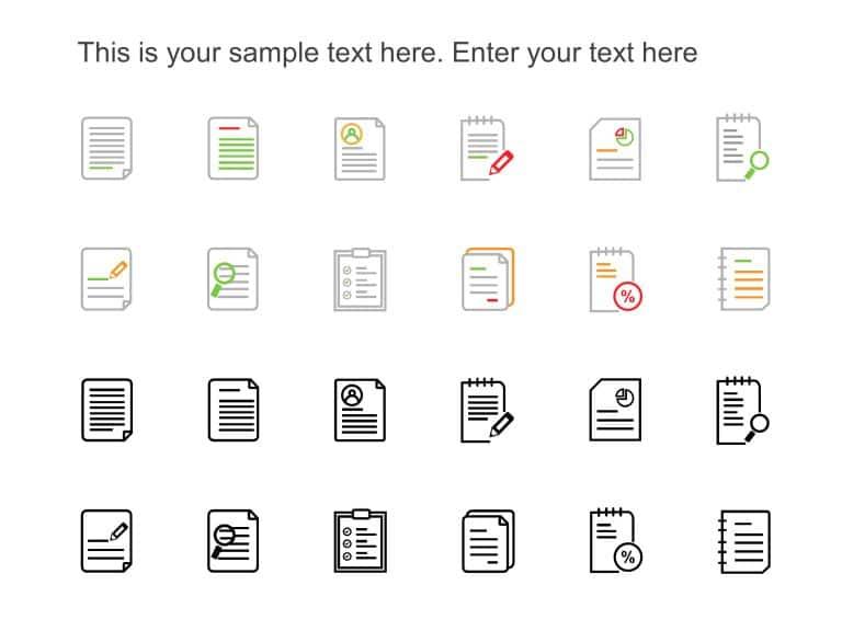 PowerPoint Icons Executive Summary
