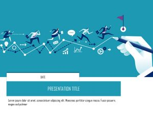 Human Resource Presentation Cover Slide