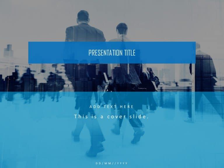 Company Profile Presentation Cover Slide
