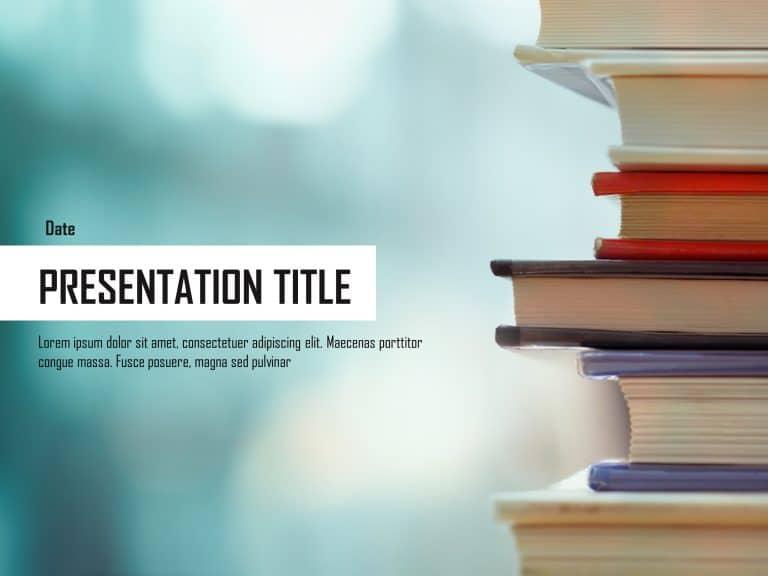 Education Presentation Cover Slide