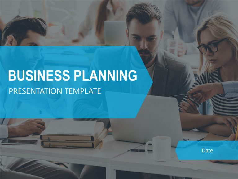 Business Planning Presentation Cover Slide
