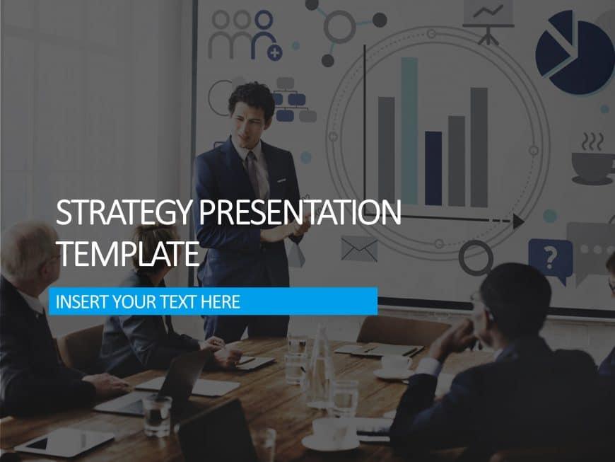 Strategy Presentation Cover Slide