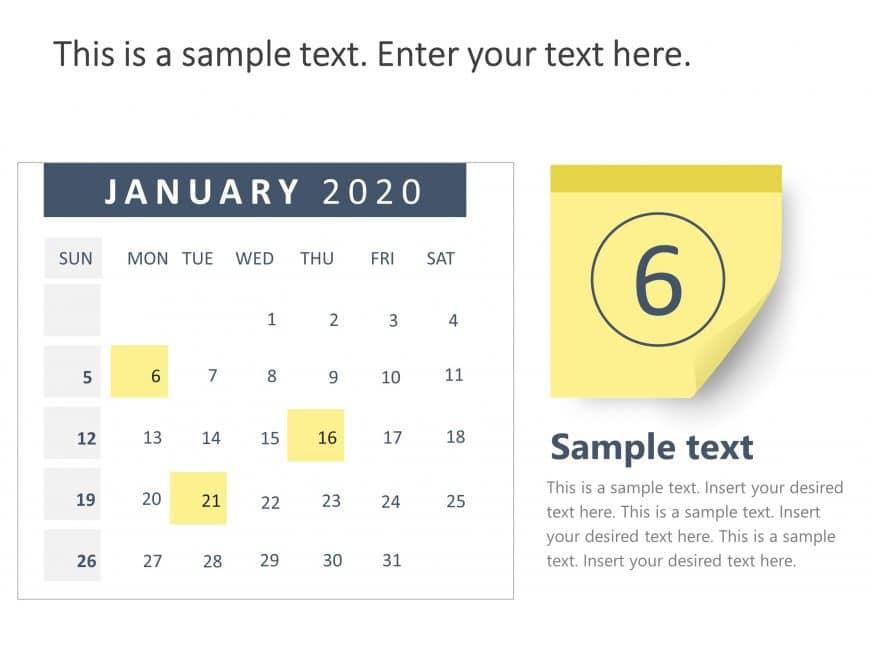 Calendar 2020 PowerPoint 1