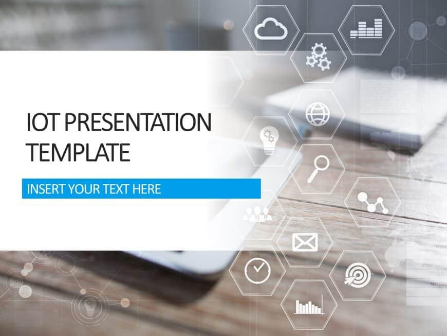 IOT Presentation Cover Slide