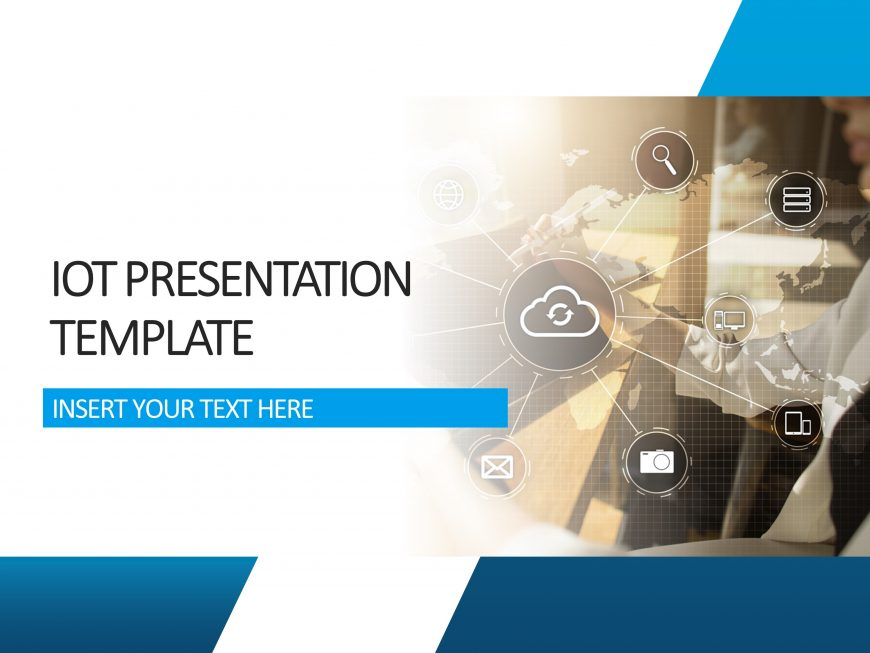 IOT Presentation Cover Slide 1