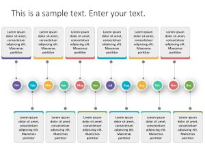 Roadmap PowerPoint Template Yearly