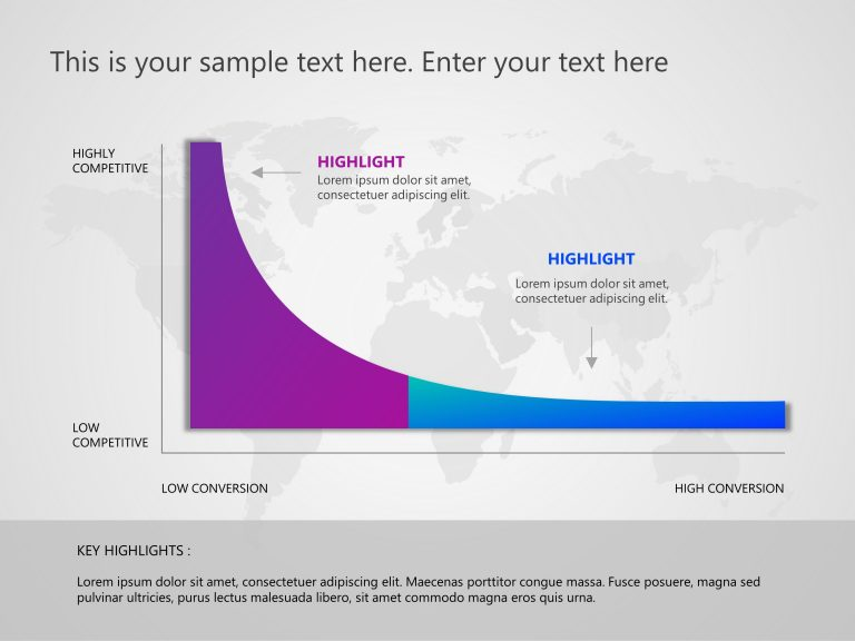 Competitor Analysis Curve PowerPoint