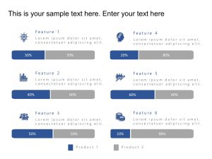 Product Comparison PowerPoint Features