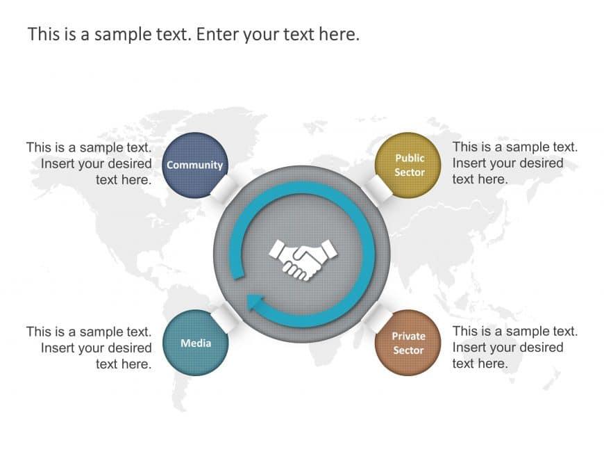 Free Partnership Engagement Strategy Circular