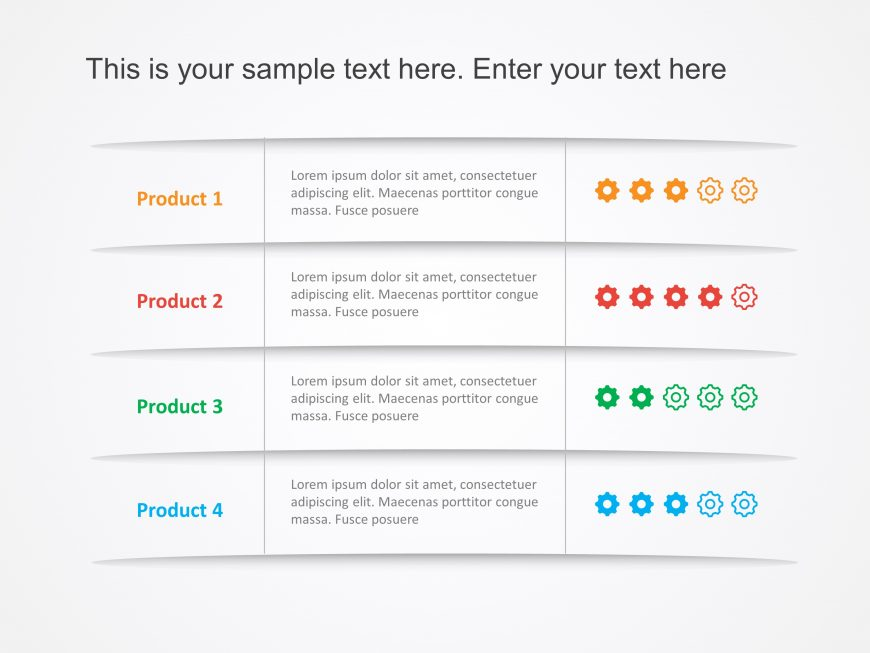 Product Review PowerPoint Template 3