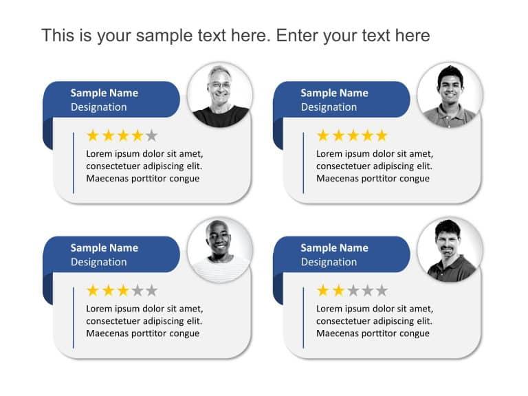 Customer Feedback Testimonials
