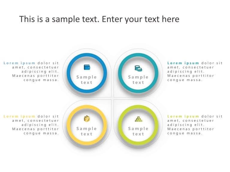 Quadrant PowerPoint Template