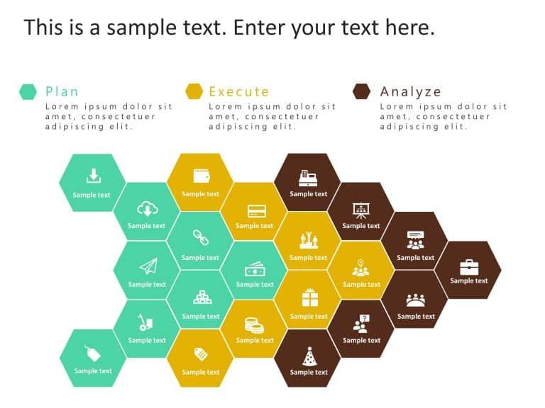 Hexagon Strategy PowerPoint Template