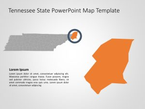 Tennessee Map PowerPoint 4