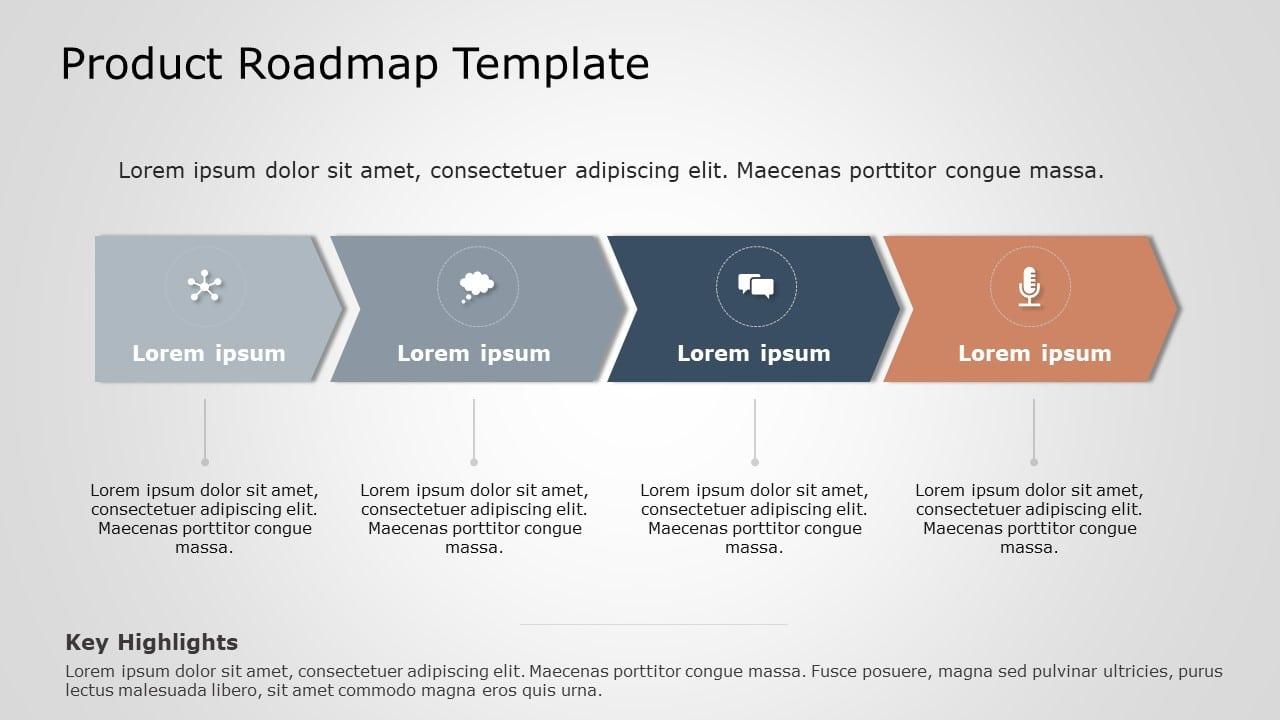 Free Roadmap Template PowerPoint