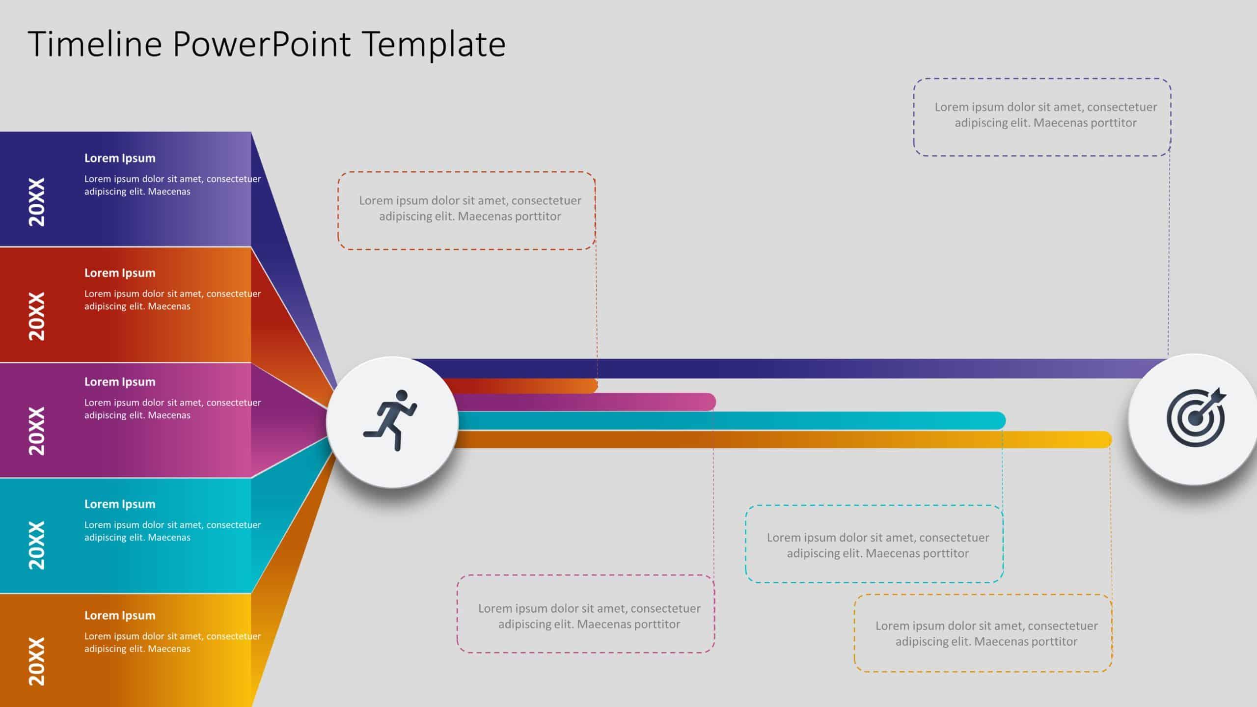 timeline ppt template