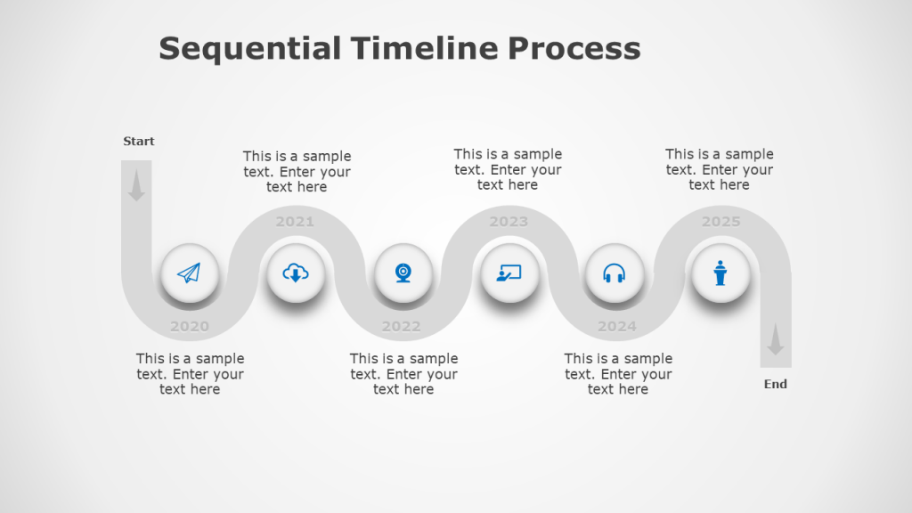 free timeline template