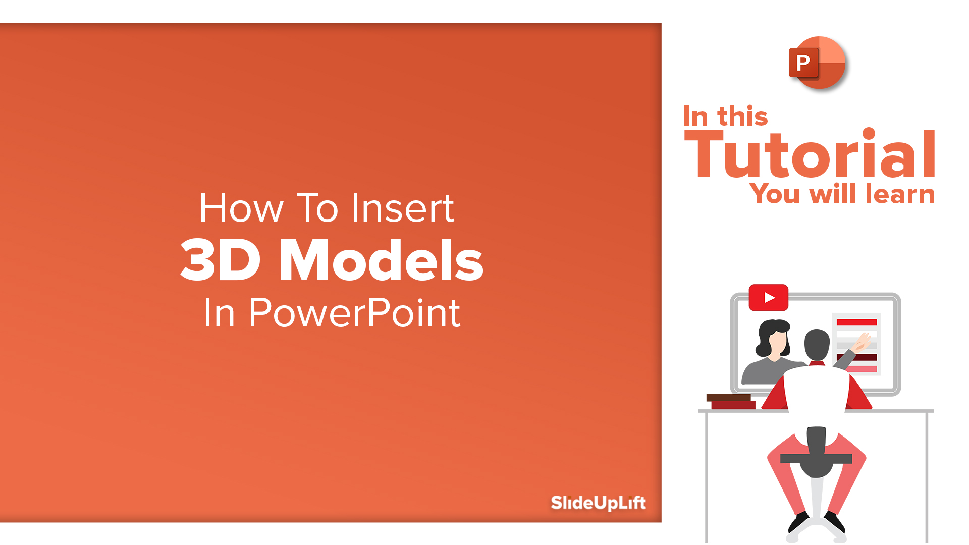 How to insert 3D models in PowerPoint