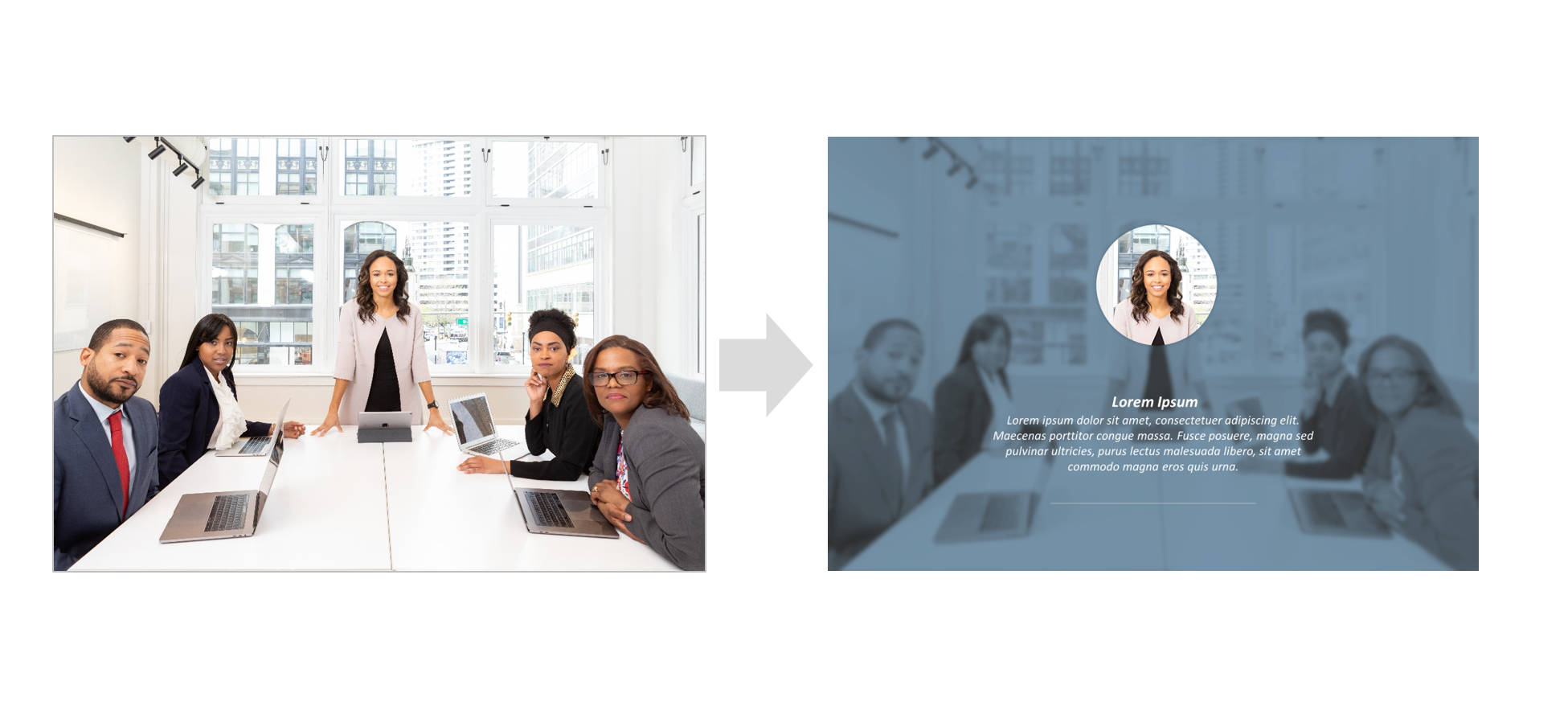 How To Highlight Part Of An Image Using Focus Effect In PowerPoint : Step-By-Step Tutorial