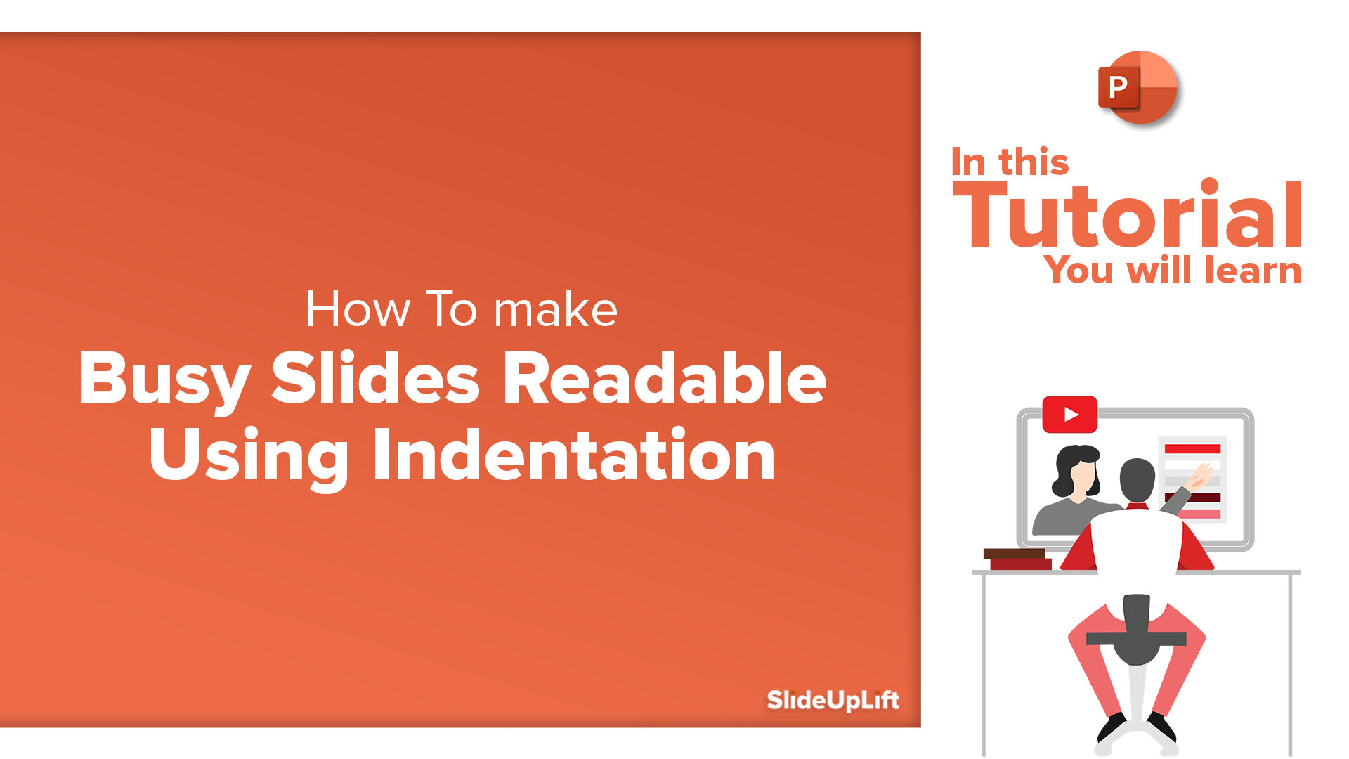 How To Make Busy Slides Readable Using Indentation | PowerPoint Tutorial