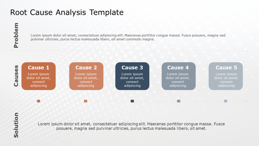 Root Cause Analysis PPT Template