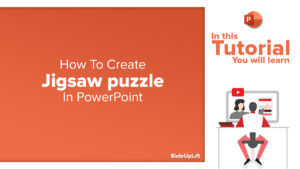 How to make Jigsaw Puzzle in PowerPoint - PowerPoint Tutorial