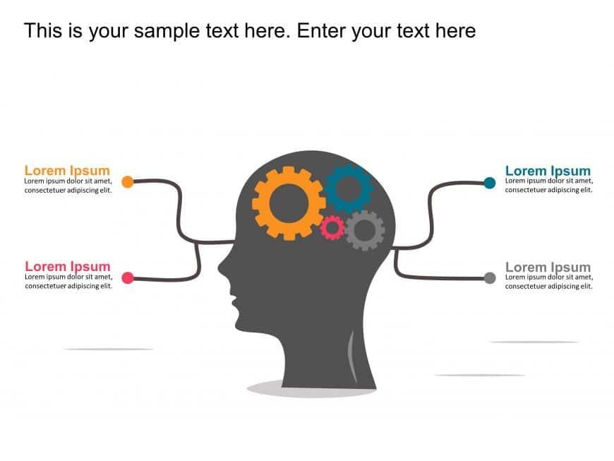 Brain Strategy Gear Animated Template