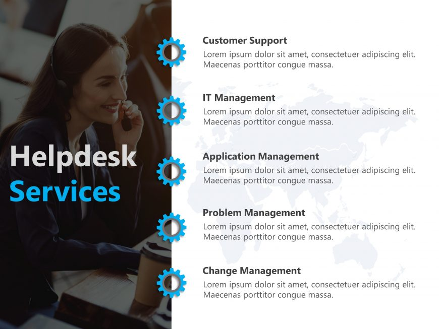 Customer Services PowerPoint Template