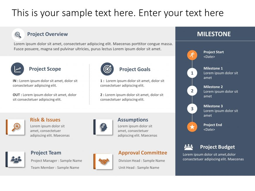 Project Charter Brief Template