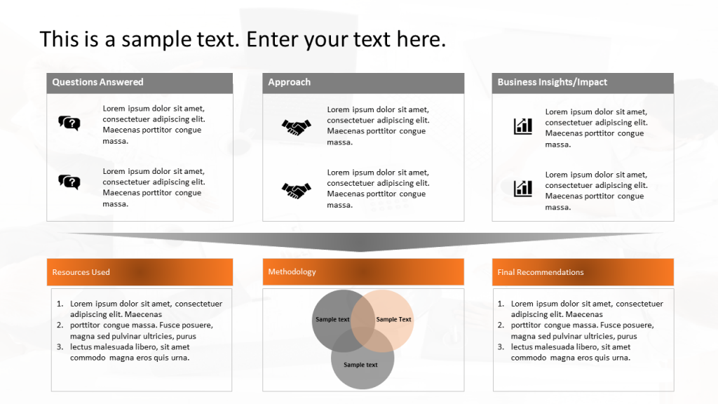 Case Study PPT Template