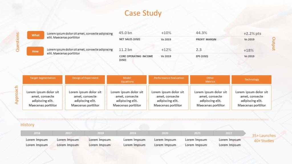 Case Study Format PPT