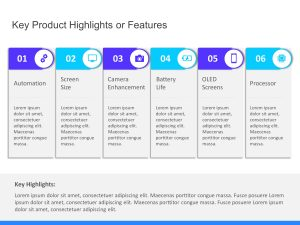 Product Features Highlights