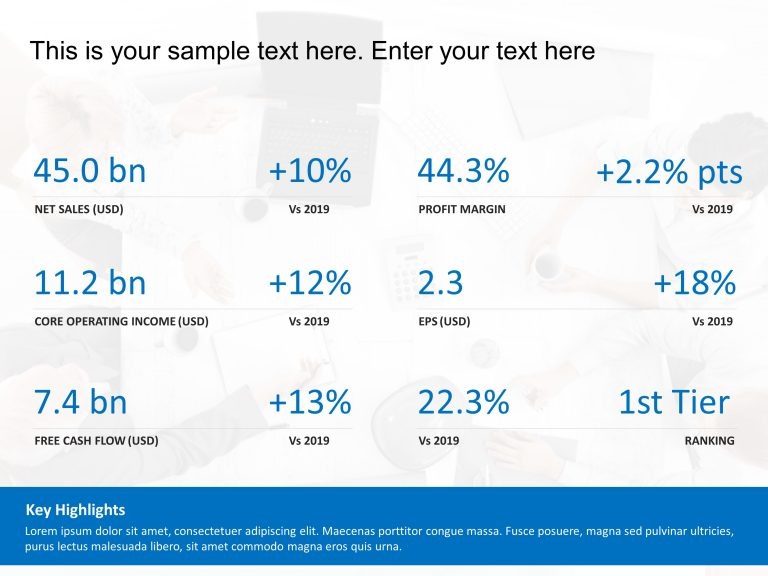 Key Financial Performance Metrics