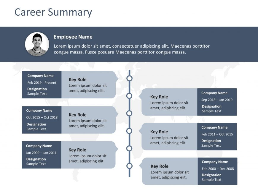 Career Summary Template