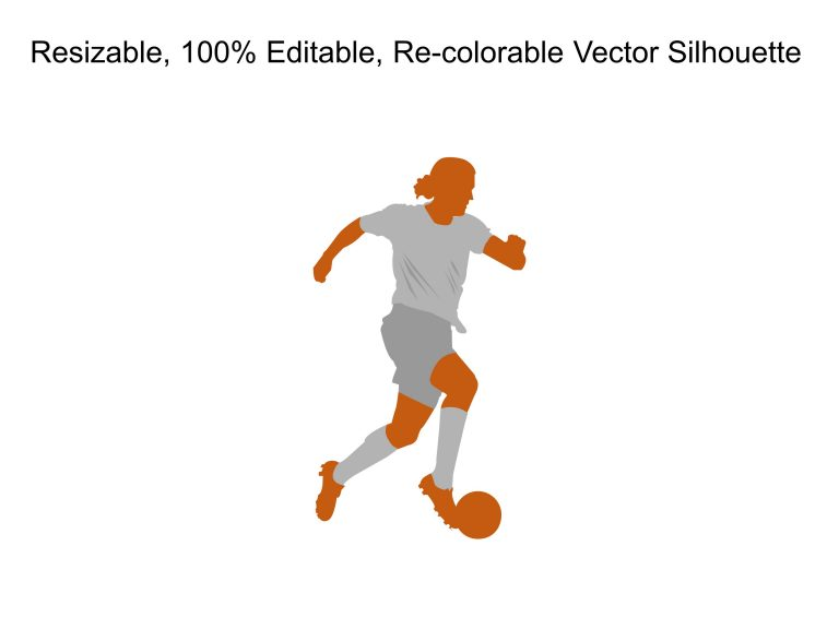 Man Football Silhouette