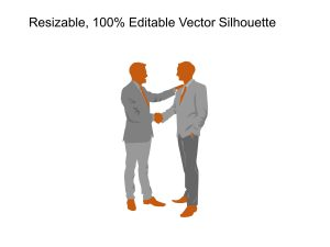 Partnership Teamwork Silhouette