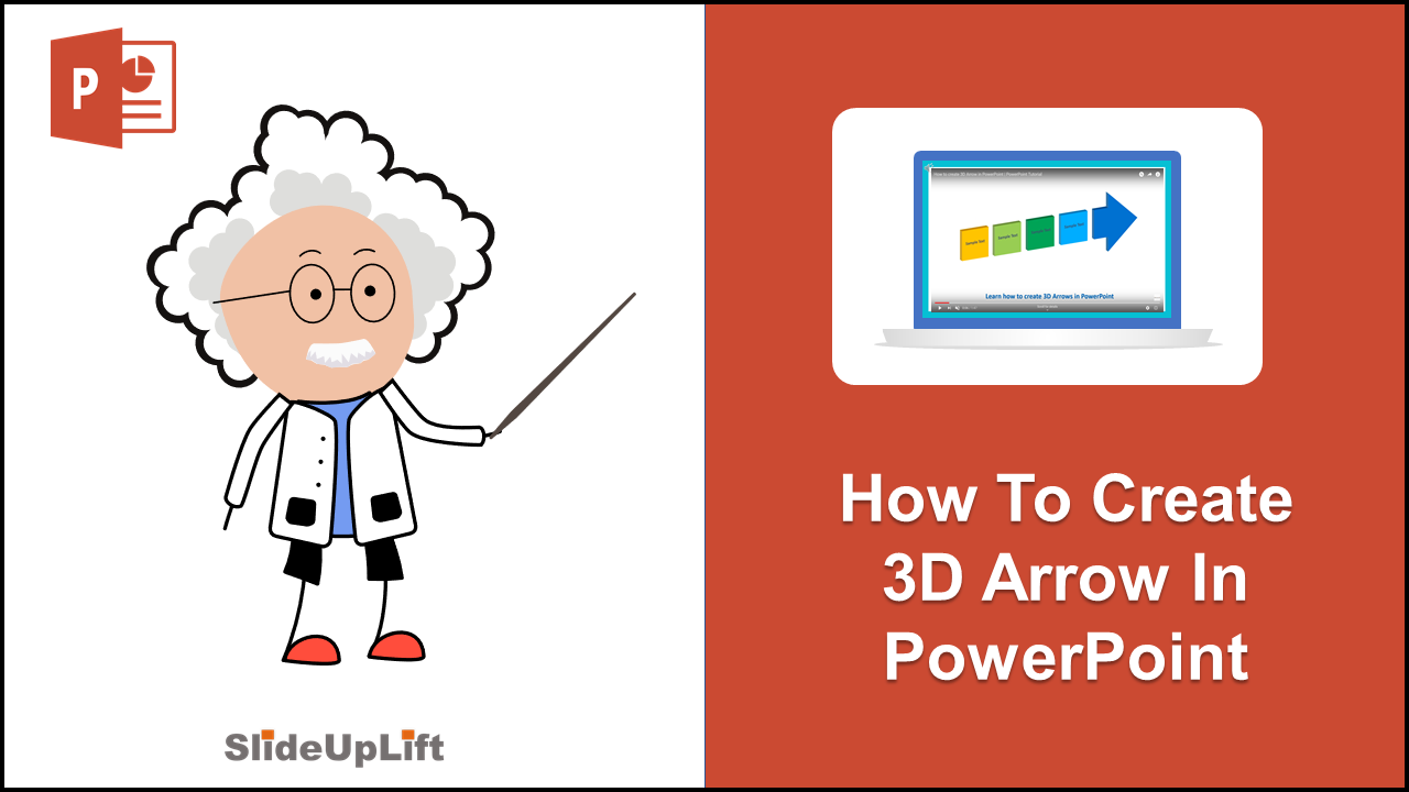How to make 3D Arrow Diagram in PowerPoint | PowerPoint Tutorial
