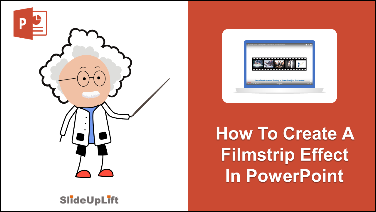 How To Make A Filmstrip Effect In PowerPoint | PowerPoint Tutorial